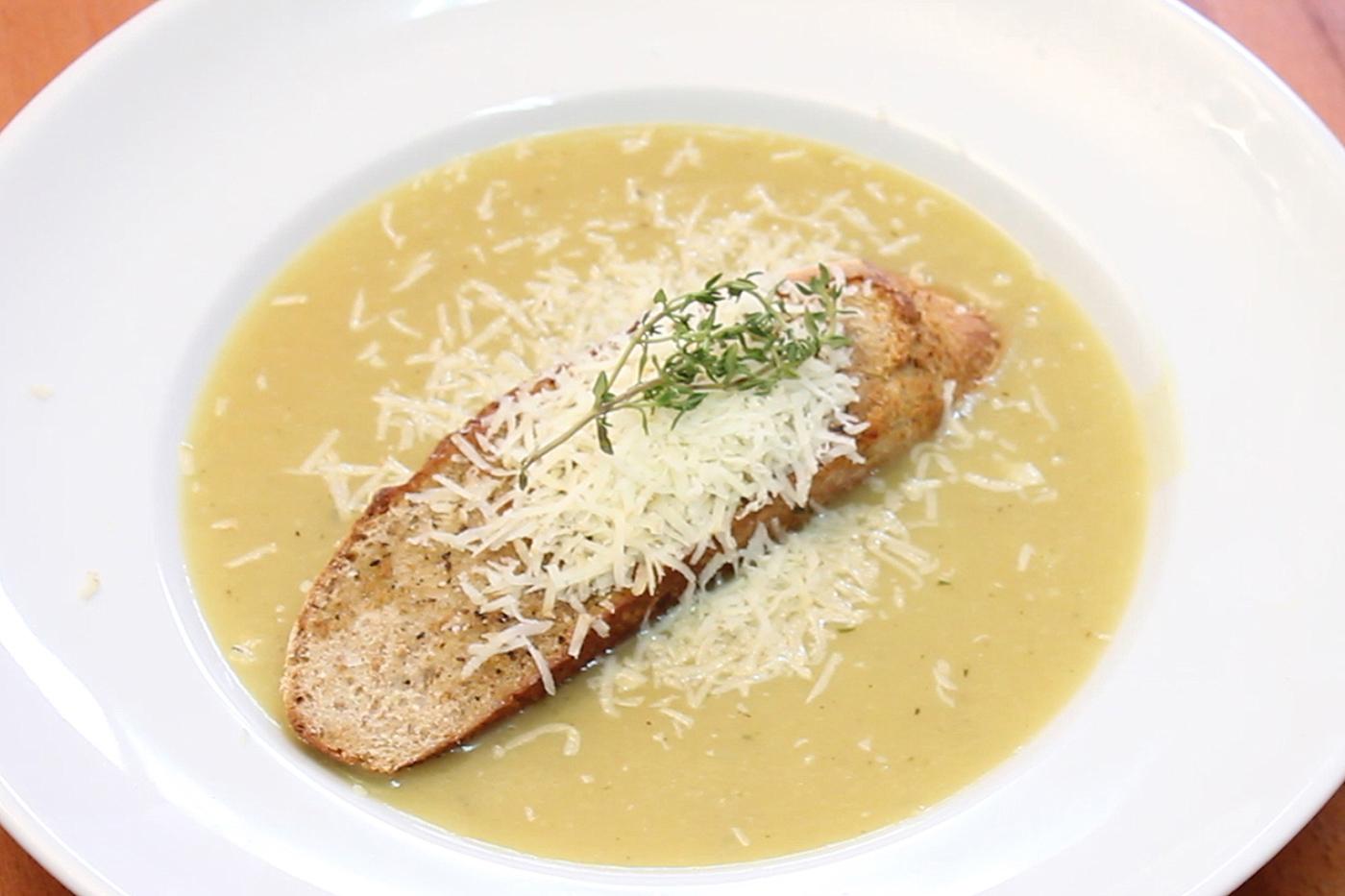 Видео рецепт: Супа со лук