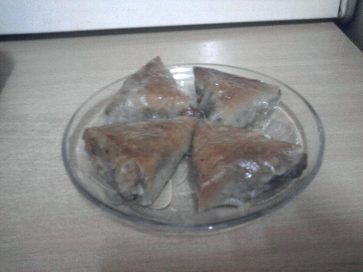 Баклава - Триаголници