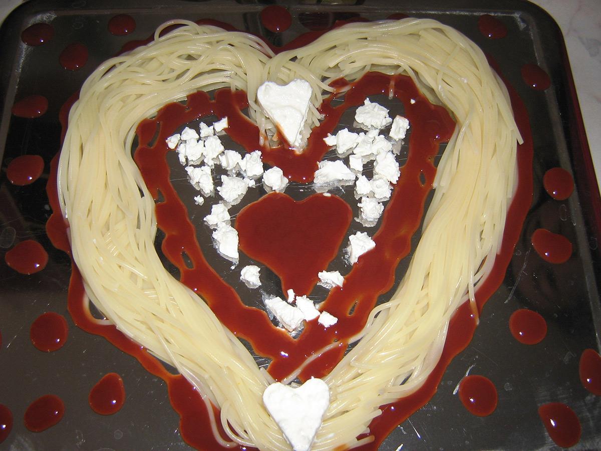 Бакнеж со шпагети