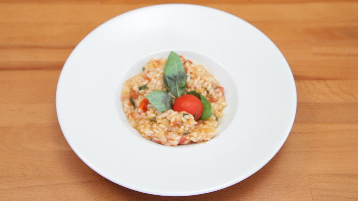 Видео рецепт: Доматно рижото
