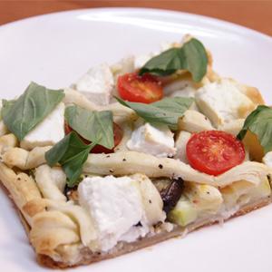 Видео рецепт: Медитеранска пита со зеленчук