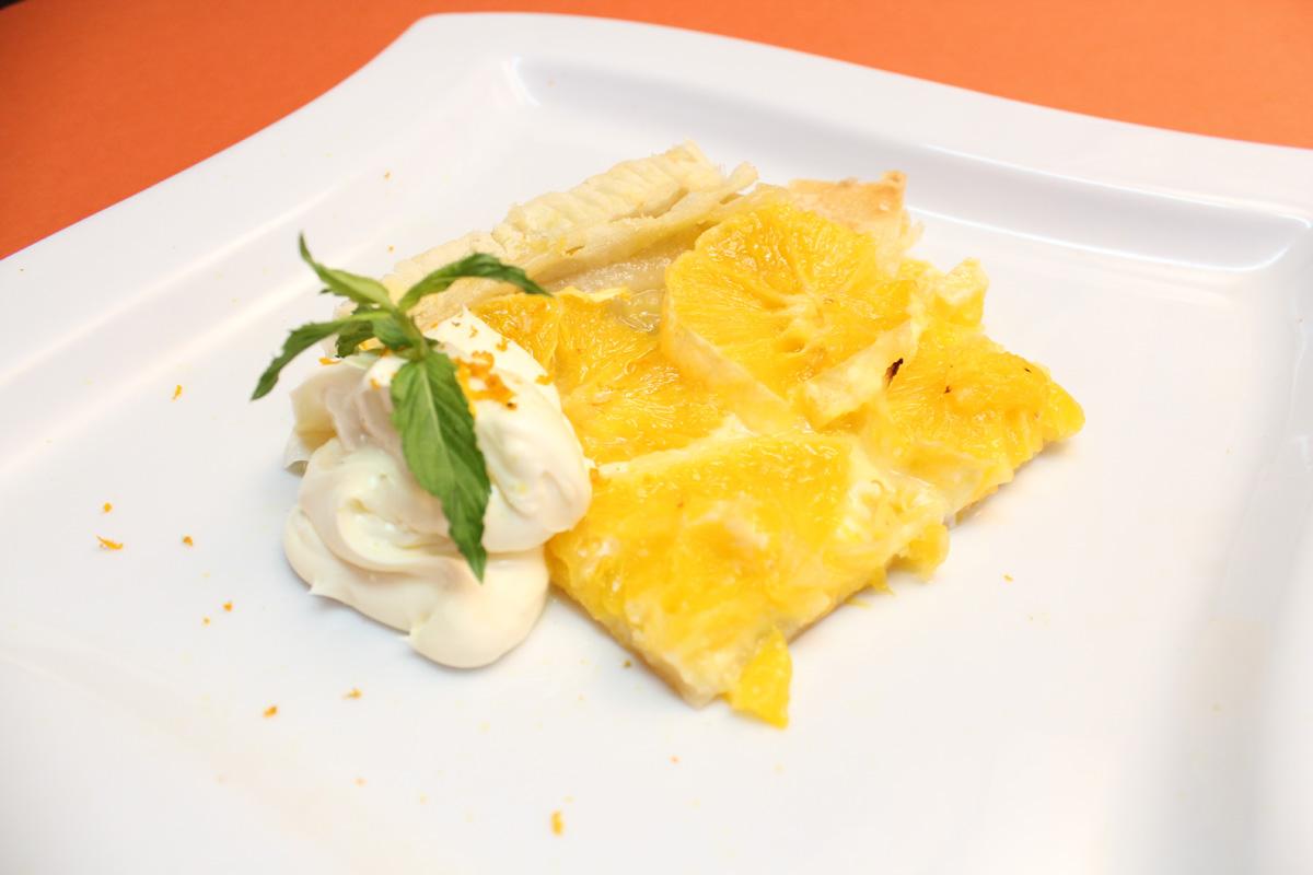 Видео рецепт: Пита со портокал и маскарпоне