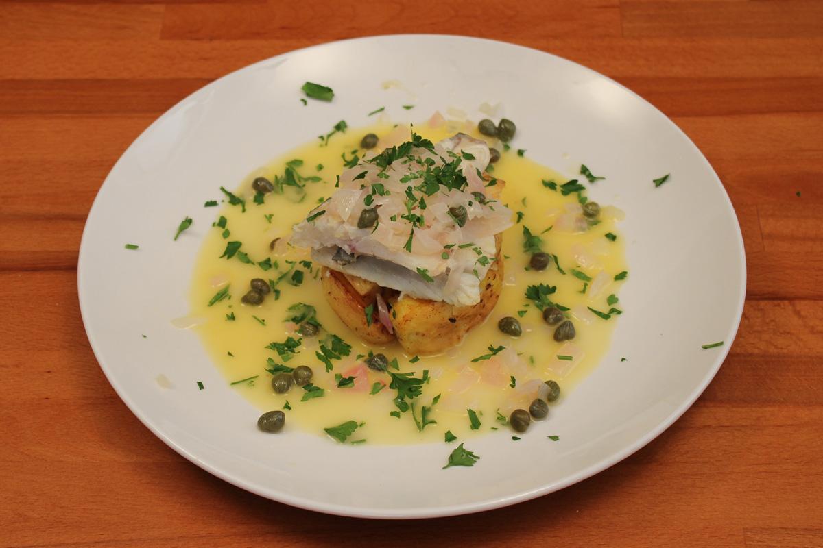 Видео рецепт: Риба во Бер Бланк Сос
