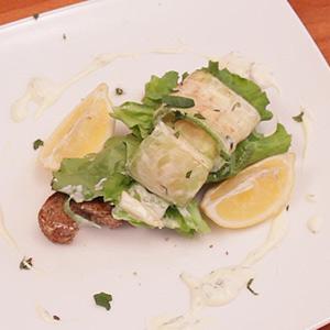 Видео рецепт: Салата од тиквички, лимон, нане и маскарпоне