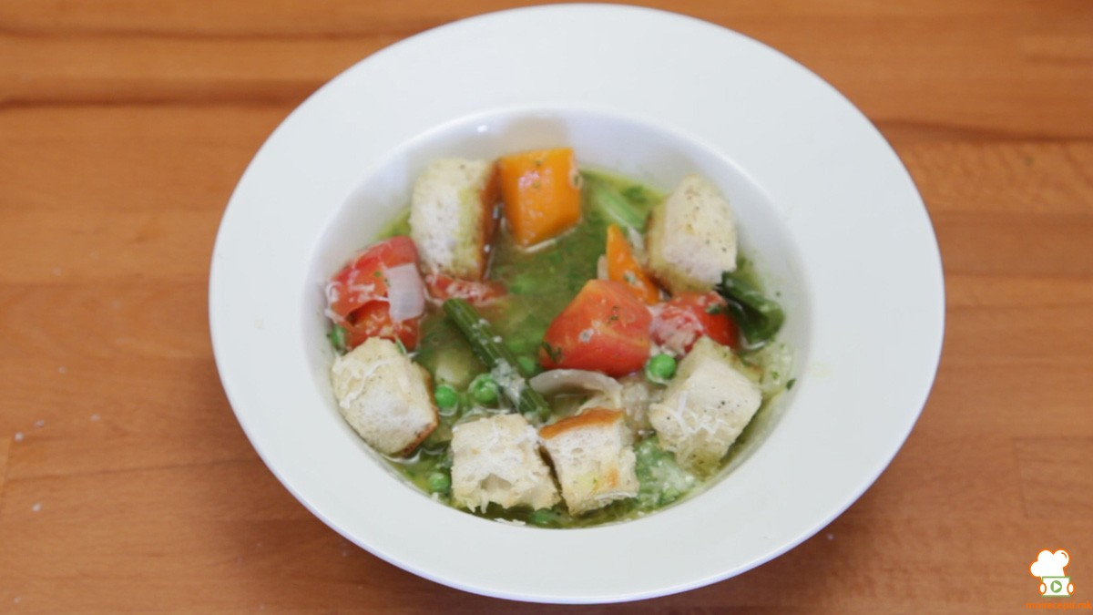 Видео рецепт: Супа со песто