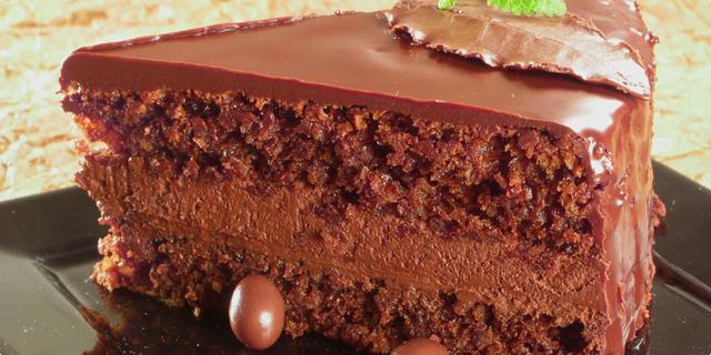 Чоколадна торта за двајца