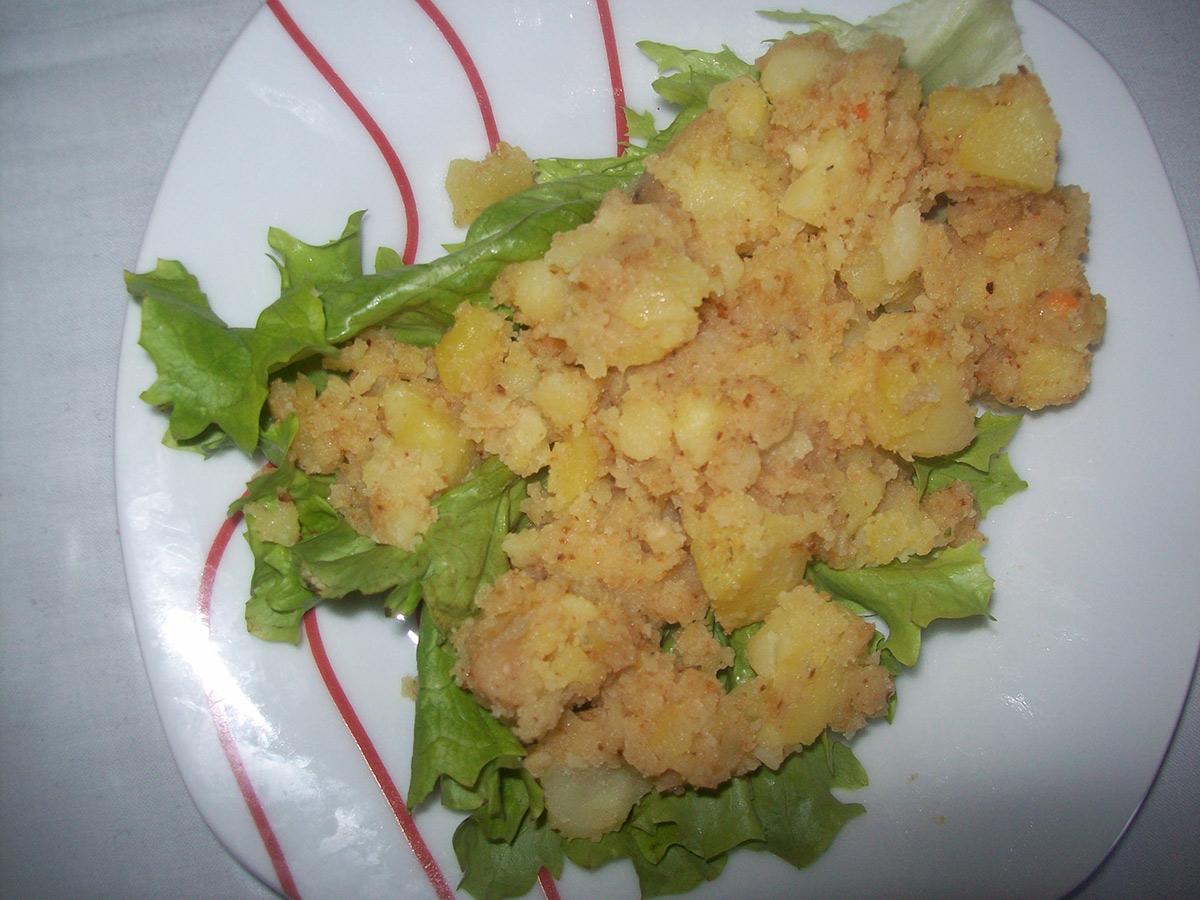 Потпечени компири со презла