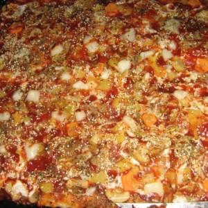 Посна пица