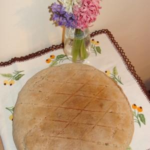 Домашна погача од интегрално брашно