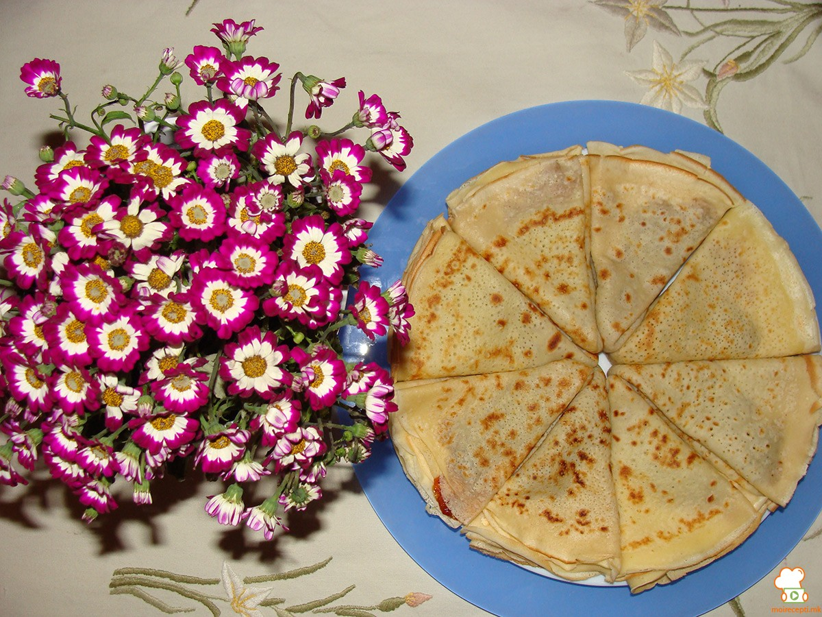 Палачинки-основен рецепт