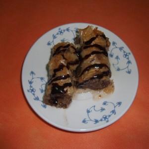 Посна баклава со чоколадо