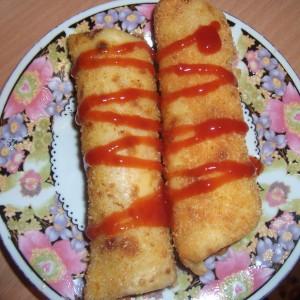 Солени палачинки со фил