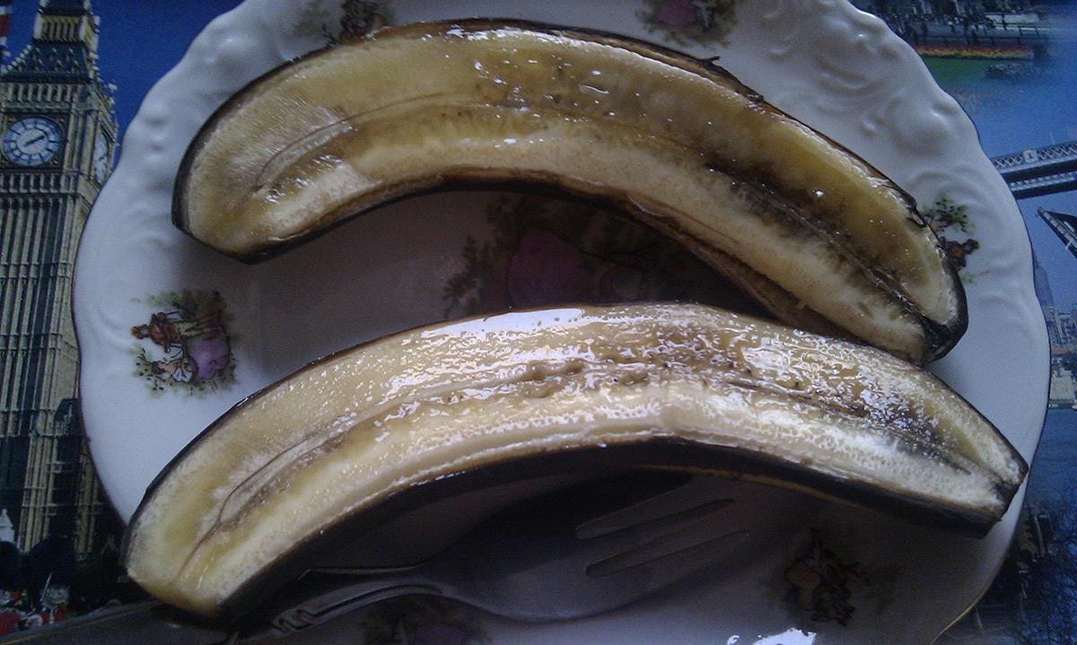 Печена банана