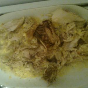 Кинато пиле со сос