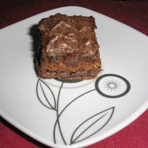 Посни чоколадни коцки