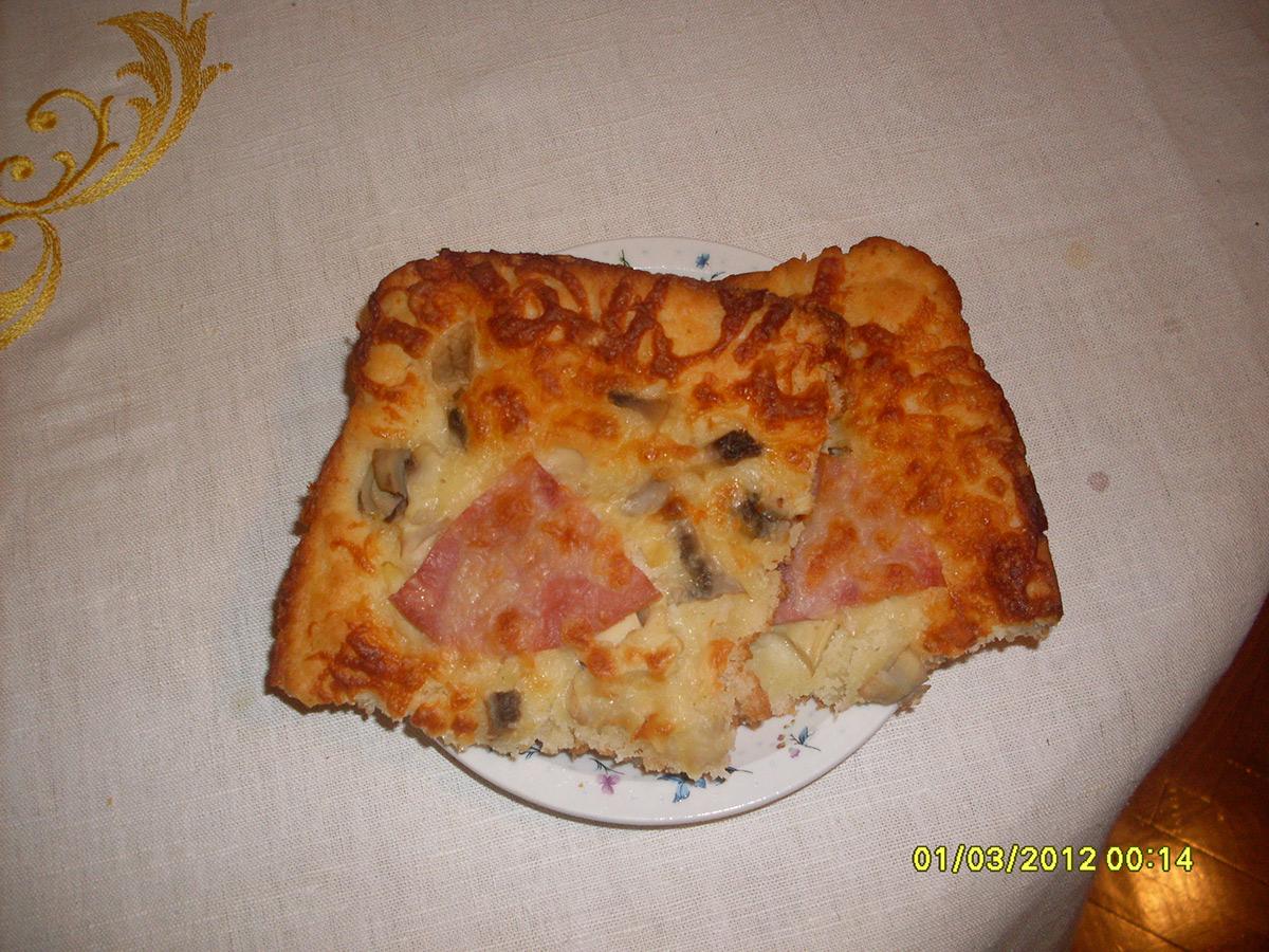 Брза пица со јогурт