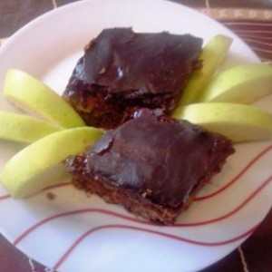 Торта со јаболка - посна.