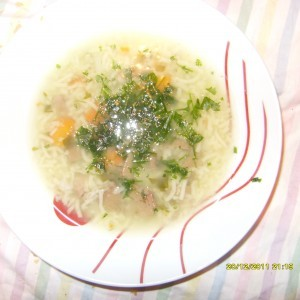 Супа од јагнешки црн дроб