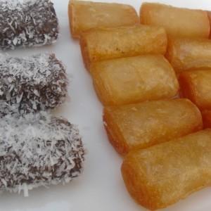 Пржени кори со конечен исход со вкус на баклава (посно)