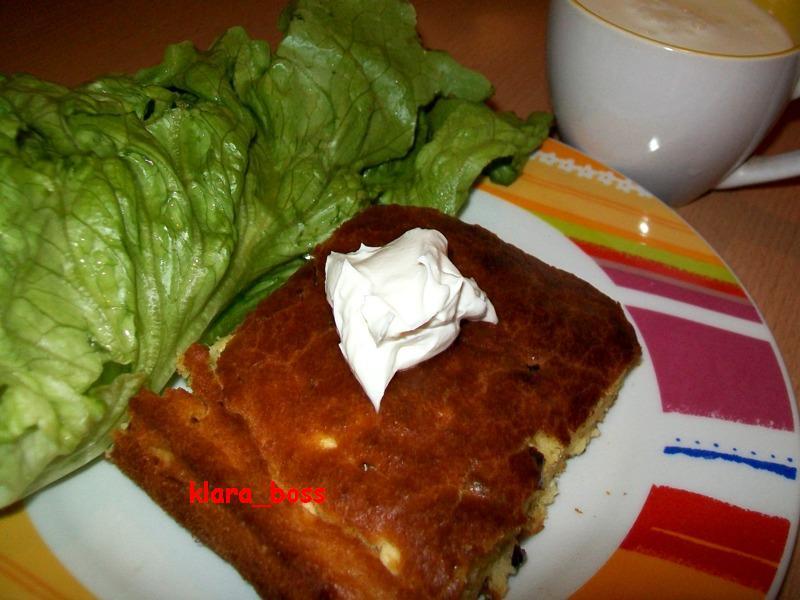 Проја со праз и сирење
