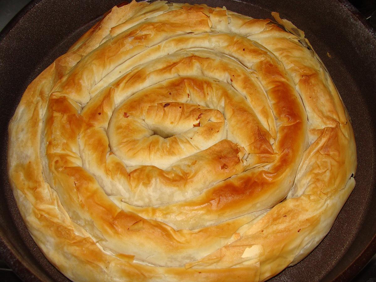 Македонска пита со компири