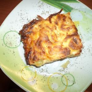 Запечен компир со павлака