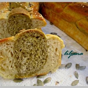 Шарен леб