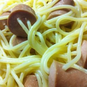 Шпагети со виршли