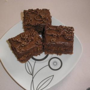 Чоколадна торта со мелен двопек