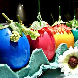 Идеја за украсување Велигденски јајца
