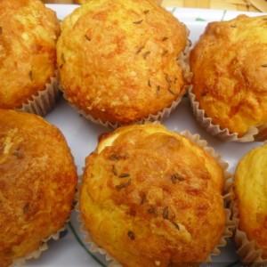 Солени муфини - блиц рецепт