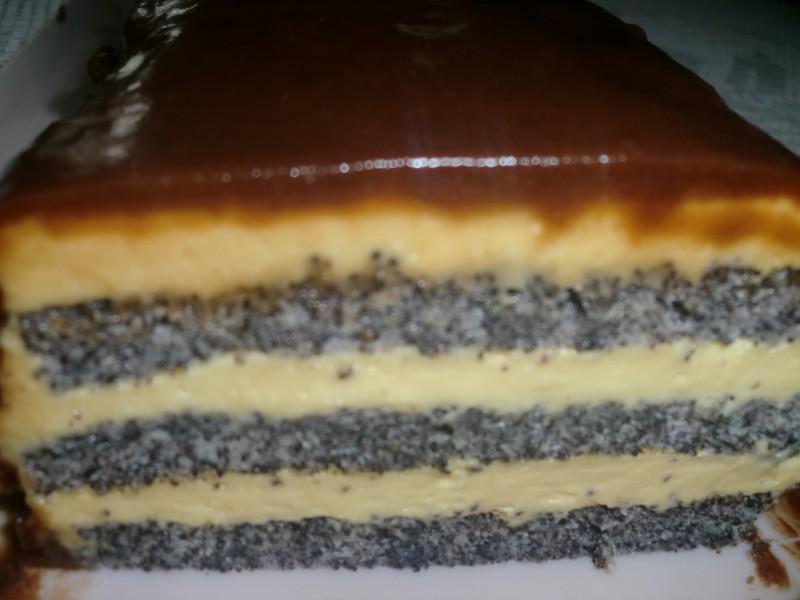 Торта со мак (афион)