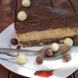 Пудинг торта