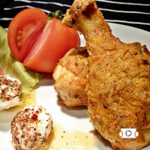 Поховано пилешко печено во рерна