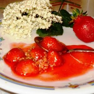 Џем од јагоди и бозел