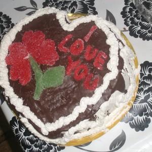 Торта срце