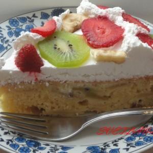 Овошна торта