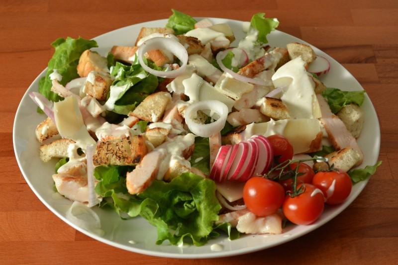 Видео рецепт: Цезар салата
