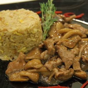 Видео рецепт: Рагу со бифтек, печурки и пиво