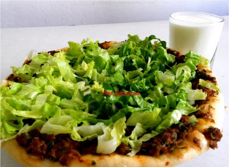 Лахмаџун (Турска пица)