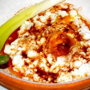 Поширано јајце на македонски начин – Чалбур