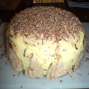 Торта сладолед со ролати