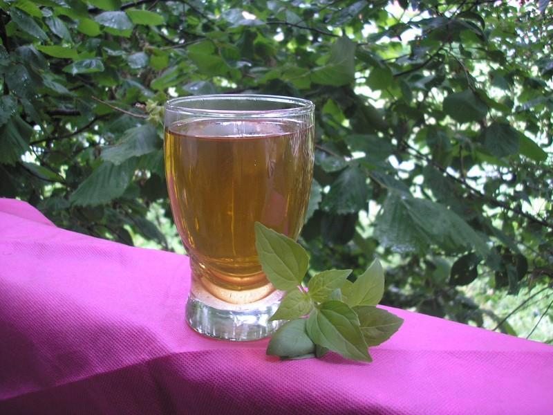 Сок од нане-ладен чај