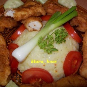 Пилешки прсти со прилог ориз