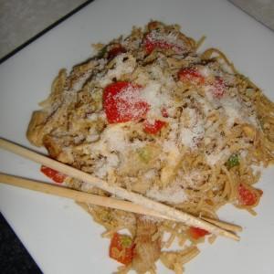 Азиатски пржени шпагети