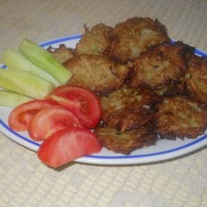 Крокети  од тиквица и компир
