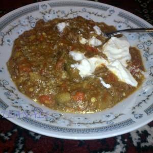 Манџа со месо и зеленчуци