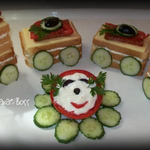 Детски сендвич-воз