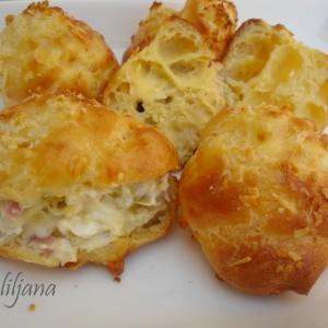 Солени француски крофни