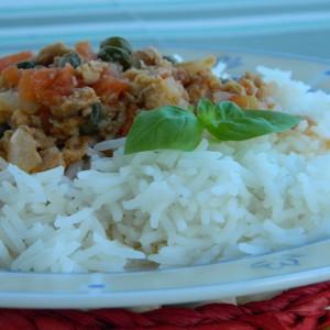 Ориз со туна и капари